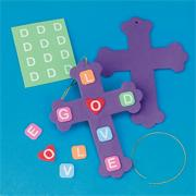 Love God Crosses Craft Kit (makes 24)