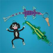 Beaded Creatures Trio Craft Kit (makes 36)