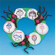 Family Wreath Craft Kit (makes 12)