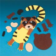 Raccoon Door Hanger Craft Kit (makes 12)