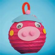 Pig Lantern (makes 12)