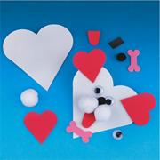 Heart Dog Magnet Craft Kit (makes 12)
