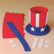 Uncle Sam Pencil Holder Craft Kit (makes 12)