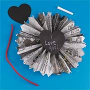Chalkboard Hearts Craft Kit (makes 12)