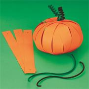 Paper Pumpkin Craft Kit (makes 12)