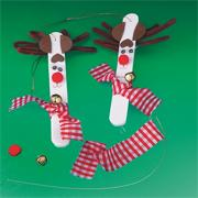 Reindeer Craft Stick Craft Kit (makes 12)