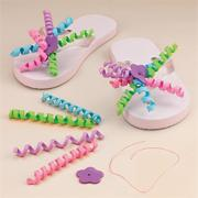 Flip Flop Decorating Craft Kit (makes 12)
