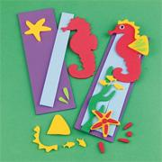 Seahorse Bookmark Craft Kit (makes 12)