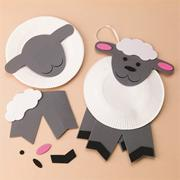 Lamb Door Hanger Craft Kit (makes 12)