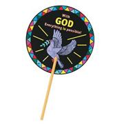 Christian Dove Fan Craft Kit (makes 12)