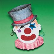 Clown Mask Craft Kit (makes 12)