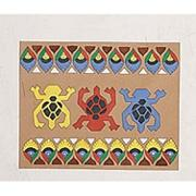 Mexican Bark Painting Printed Sheets, 10&quot;x12&quot;   (pack of 24)