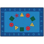 Early Learning Value Rug 6'x9'