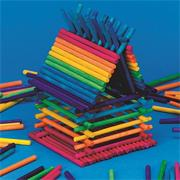 Colored Popsticks (pack of 100)