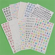 Letteriffic - Assorted Letter Stickers 