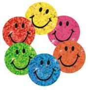 Trend Sparkle Stickers Smiles  (pack of 400)