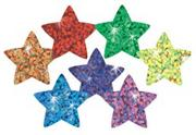 Trend Sparkle Stickers Stars  (pack of 400)