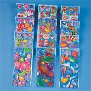 Puffy Stickers (pack of 24)