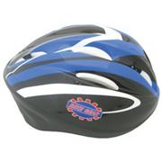 Bicycle Safety Helmet, Medium, Blue/Black