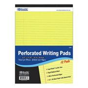 Canary Writing Pad  (pack of 12)