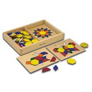 Melissa &amp; Doug Pattern Blocks and Boards