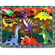 Melissa &amp; Doug Dinosaurs Chunky Puzzle
