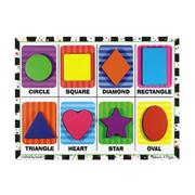 Melissa &amp; Doug Shapes Chunky Puzzle