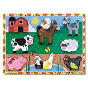 Melissa &amp; Doug Farm Chunky Puzzle