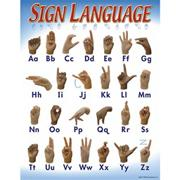Sign Language Learning Chart