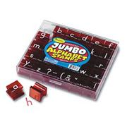 Jumbo Lowercase Alphabet Stamps (set of 34)