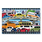 Traffic Jam Floor Puzzle
