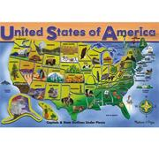 Melissa & Doug� U.S.A. Map Puzzle (45 pc)