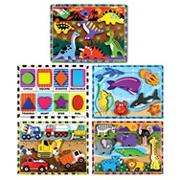 Chunky Puzzle Set (set of 5)