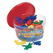 Backyard Bugs Counters  (set of 72)