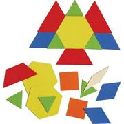 Magnetic Pattern Blocks (set of 49)