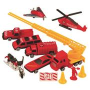 Emergency Vehicles (set of 12)