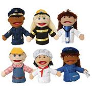 Career Puppets (set of 6)