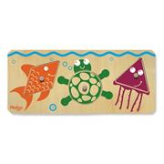 3-Piece Puzzle Beginner Shapes � Sealife