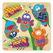 12-Piece Puzzle Mix and Match � Bugs