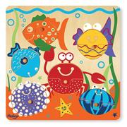12-Piece Puzzle Mix and Match � Sealife