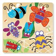 6-Piece Puzzle Surprise Pictures  Bugs