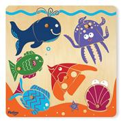 6-Piece Puzzle Surprise Pictures � Sealife