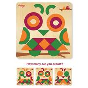 Multi-Solution Shape Puzzle - Owl