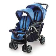 Duo� Double Tandem Folding Stroller
