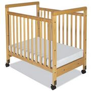 SafetyCraft� Compact Fixed Size Crib
