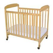 Serenity Compact Fixed Side Crib