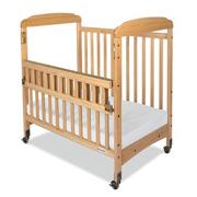 Serenity SafeReach Compact Crib with Clear-View Ends