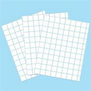 Graph Paper, 8-1/2&quot; x 11&quot; (pack of 500)