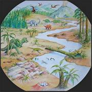 Active World Dinosaur Mat