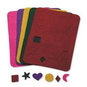 Precut Felt Shapes  (pack of 120)